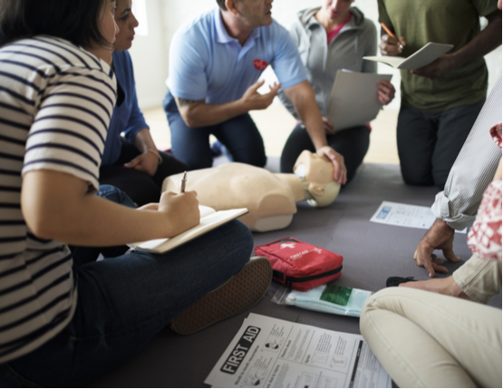 first aid cpr training course